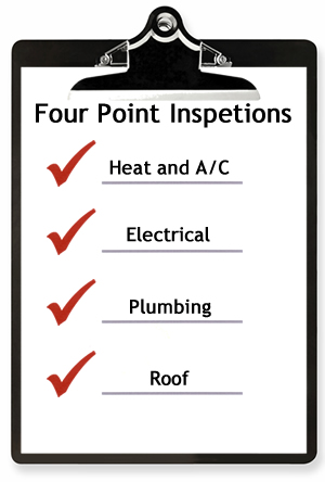 Four-point-inspection-checklists